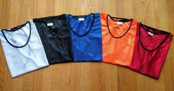 12 or 16pc Youth Scrimmage Pinnies Practice Jerseys Vests So