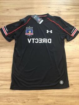 1288713-006 Under Armour Chile Colo Colo Away Soccer Jersey