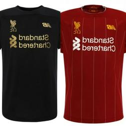 19/20 NEW KIT LIVERPOOL JERSEY Home FREE US Shipping Red Bla