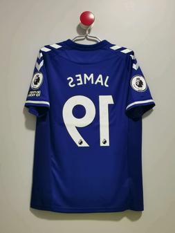 20/21 Everton Home and Away Soccer Jersey #19 JAMES Premier