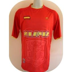 2010 south africa world cup spain flag pro soccer jersey siz