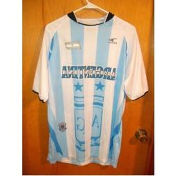 2010 SOUTH AFRICA WORLD CUP ARGENTINA MENS SOCCER JERSEY SIZ