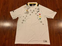 8783c2dbd Editorial Pick 2012-13 Puma Men s Ghana Home Soccer Jersey Extra Large XL