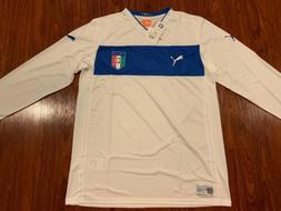 2012-13 Puma Men's Italy National Team Long Sleeve Away So