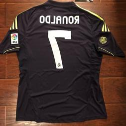 1aff965b6 2012 13 Real Madrid Away Jersey  7 Ronaldo Large Adidas Foot