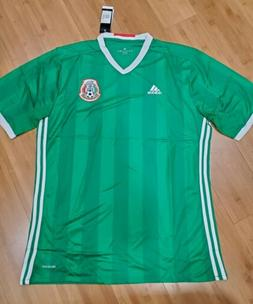 2014 green mexico soccer jersey mens size