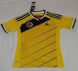 2014 SELECCION COLOMBIA ADIDAS S BOYS LADY BRAZIL WORLD CUP