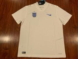 2014 World Cup Nike Men's England Home Soccer Jersey Extra