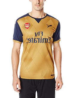 7c7f4d9d2 Mens Puma 2015 16 Arsenal Away Replica Soccer Jersey