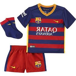 17ff46acf8f Nike 2015 16 Infant FC Barcelona Home Kit
