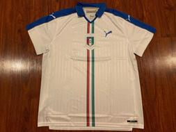 2015-16 Puma Men's Italy National Team Away Soccer Jersey