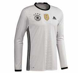 ADIDAS 2016 Germany Home White Long Sleeve Soccer Jersey NEW
