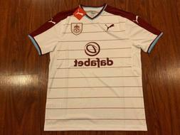 2017-18 Puma Men's Burnley FC Away Soccer Jersey Large L The