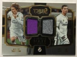 2017-18 Select Soccer Double Team Dual Jersey Cristiano Rona