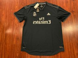 2018-19 Adidas Real Madrid Men's Away Soccer Jersey XL Authe