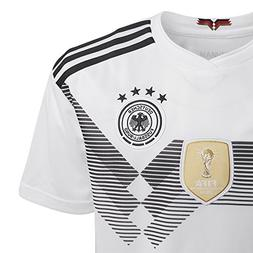 adidas Kids Boy's 2018 Germany Home Jersey  White/Black Smal