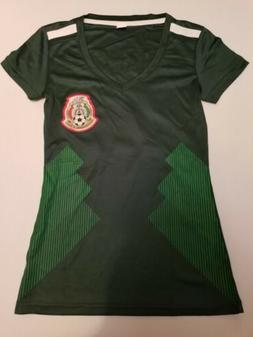 2018 Green Women's Mexico Replica Soccer Jersey