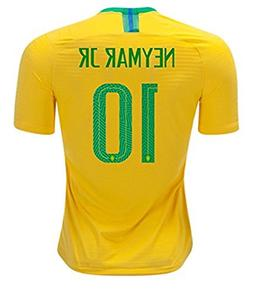 2018 Russia World Cup #10 Neymar JR Brazil National Team Hom