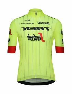 2018 Trek Segafredo Team Classic Cycling Jersey in Yellow -