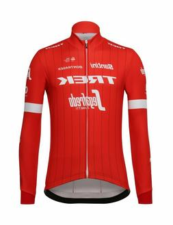 2018 Trek Segafredo Team Long Sleeve Cycling Jersey in Red -