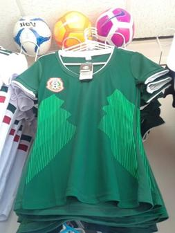2018 Women's Mexico FMF Replica Soccer Jersey MUNDIAL WORLD