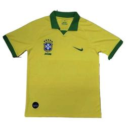 2019-20 Nike Breathe Men's Brazil Home Soccer Jersey Brasi