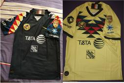 2019-2020 Club America Home/Away soccer Jersey And A18 LIGA