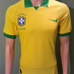 2019 Brazil National Team Home Men's Soccer Jersey Copa Amer