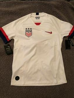 Nike 2019 USA Stadium Home Soccer Jersey Men's Medium Red Wh