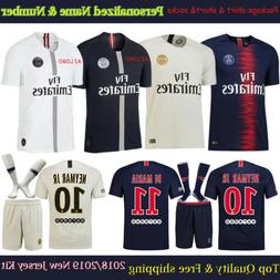 2019 White Football Club Kits Soccer Team Jersey Suit For Yo