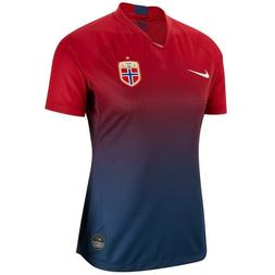 2019 Womens Nike Norway Norge National Soccer Team Home Jers