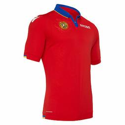 Macron 2020-21 Armenia Home Jersey - Red