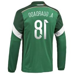 Adidas A. GUARDADO #18 Mexico Home Jersey World Cup 2014