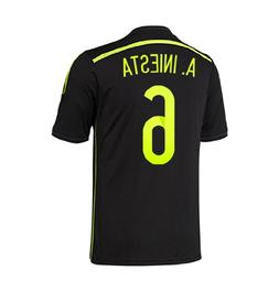 Adidas A. INIESTA #6 Spain Away Jersey World Cup 2014