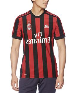 adidas AC Milan 2017/2018 Home Soccer Jersey New w tags Blac