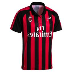 PUMA AC MILAN OFFICIAL HOME FAN SOCCER JERSEY MEN'S T-SHIRT