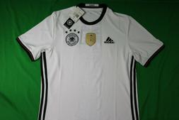 adidas International Soccer Germany Men's Jersey, X-Small, W