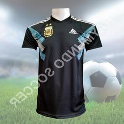 Adidas Argentina Authentic 2018 Away Jersey BLACK / CLEAR BL