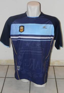 ARGENTINA BLUE SOCCER JERSEY SIZE LARGE BY DRAKO