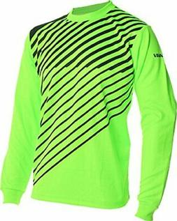 Vizari 60042 Arroyo Goalkeeper Jersey, Neon Green/Black, Siz