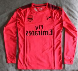 Arsenal 2017/2018 Goalkeeper Jersey Puma XL Pink 17/18 Premi