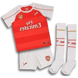 Arsenal Baby Home Kit 2015 - 2016