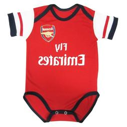 Arsenal Soccer Home Baby Suit 0-9 months 2014