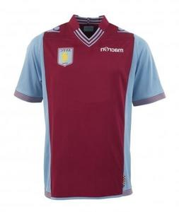 Aston Villa Boys Home Football Jersey 2013-14
