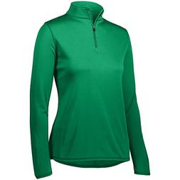 Augusta Sportswear Women's Attain 1/4 Zip Pullover XS Kelly
