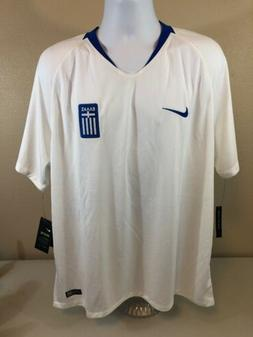 Authentic 2018 Greece Mens National Soccer Team Jersey Mens