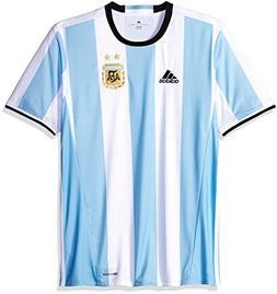 a075f350160 AUTHENTIC ARGENTINA 2017 HOME FOOTBALL SHIRT SOCCER JERSEY A