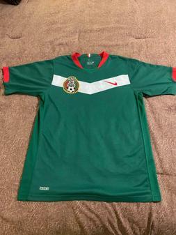 AUTHENTIC Nike Mexico 2006 World Cup Futbol Soccer Jersey si