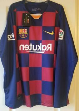 Barca Long Sleeves Sz S Soccer  # 10    Messi Jersey.