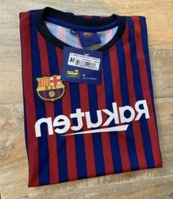 Barcelona F.C. #10 MESSI: Soccer Jersey: Youth Large Size